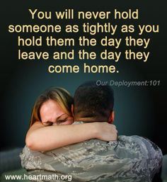 Army hellos and goodbyes...