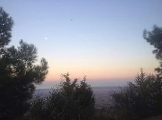 From Kantara Castle, Sunset, North Cyprus