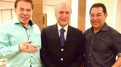 Jassa 'faz a cabeça' de Silvio Santos e do Presidente Michel Temer