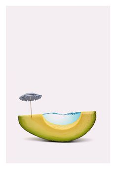 Day 811 – High-quality paper – Archivable ink – Limited edition of 25 printsPlease note: the production time can take up to 10 days. Still Life Photography, Color Photography, Avocado Art, Parasols, Photoshop, Photocollage, Conceptual Photography, New Poster, Fruit Art