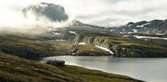 Cabin on the Hardangervidda Plateau, Norway.