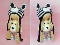 Interior doll Fabric doll Tilda doll Art doll por AnnKirillartPlace