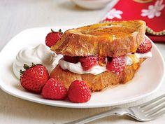 Double-Berry French Toast Casserole Recipe | MyRecipes