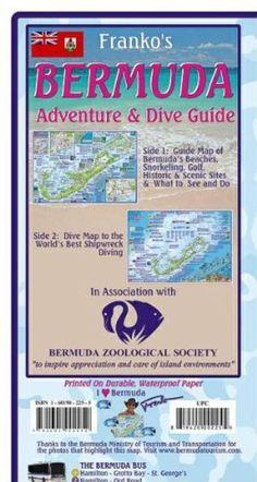 Bermuda Map Bermuda Guide And Dive Folded 2011 By Frankos Maps Ltd