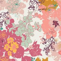 Summerlove by Patricia Bravo - Daydreaming Sunshine (SML-101) - Art Gallery Fabric - 1 yard
