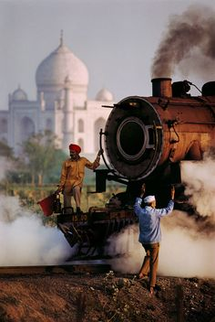 Agra Railway, India  | Steve McCurry