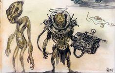 Fallout Fan Art, Fallout Concept Art, Robot Art, Robots, Post Apocalyptic Art, Monster Concept Art, Alien Races, Armor Concept, Character Design References
