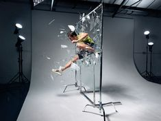 Old CG simulation of glass shattering i made with photographer Holger pooten while i was an intern farmhouse london in The series show the impact of sports through breaking glass plate in a studio environnement. Le Book, Lighting Techniques, Fitness Photography, Farmhouse, Sports, Boxing, Photographers, African, London