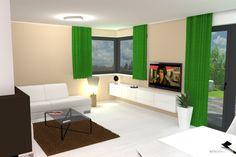 .... závěsné skříňky obývací sestavy jsou praktické, lze pod nimi pohodlně vytřít podlahu
