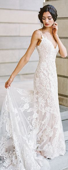 ad   Wedding Dress by Madison James from Allure Bridals. This sheath bridal  gown 62dda72ff724
