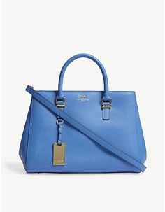 Kurt Geiger London Richmond Saffiano leather tote
