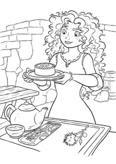 brave coloring page 42 is a coloring page from brave coloring booklet your children express their imagination when they color the brave coloring page they
