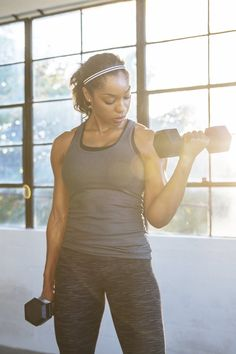 Workout Twice A Day, 30 Minute Workout, Tone Inner Thighs, Short Workouts, Arm Workouts, Best Shoulder Workout, Reps And Sets, Heavy Weight Lifting