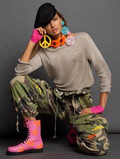 Publication: Vogue Paris March 2015.   Model: Romee Strijd.   Photographer: Inez van Lamsweerde & Vinoodh Matadin.   Fashion Editor: Carlyne Cerf de Dudzeele.   Hair: James Pecis.   Make-up: Wendy Rowe.