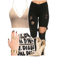 loving you by queen-tiller on Polyvore featuring Melody Ehsani and Forever 21