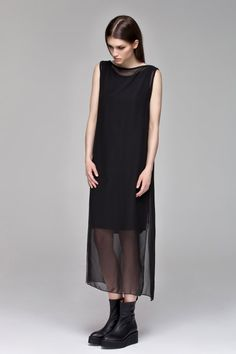 Sheer Tunic Dress by Blackblessed