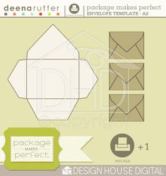 Templates : boxes and envelops