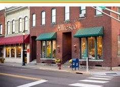 Alfresco Casual Living store front Downtown Stillwater