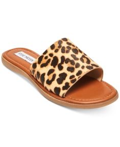 Look around girls event sandals, plain water flip flops, & more developed for coziness & longevity. Sandals Outfit, Sport Sandals, Slide Sandals, Shoe Boots, Shoes Heels, Shoe Bag, Cute Shoes, Me Too Shoes, Leopard Sandals