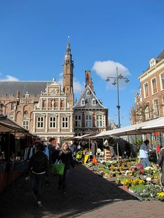Haarlem -Grote Markt    with City Hall  One of my all time favorite ,quaint towns, the city center has lots of activities where for both the young and old