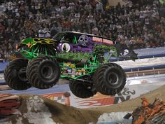 Gravedigger - as a kid this monster truck used to scare me!