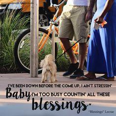 """Blessings"" by Lecrae. #newsong #countyourblessings #blessings #christianmusic #christiansong #lecrae #christianrap #songlyrics #greatlyrics"
