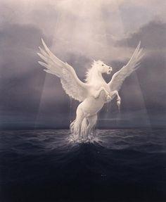 Pegasus Fantasy Myth Mythical Mystical Legend Wings