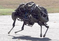 "Boston Dynamics Announces New ""WildCat"" Quadruped 