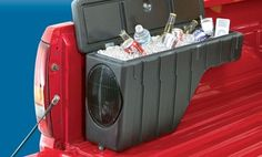 Groupon - Pickup Truck Wheel Well Storage with Speaker in [missing {{location}} value]. Groupon deal price: $129.99