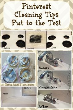 Pinterest Cleaning Tips Put to the Test by CuteAsAFox.com