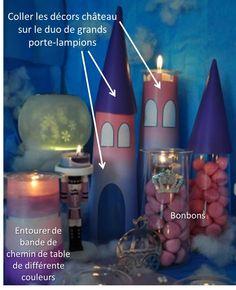 Duo de grands porte-lampions by PartyLite - Atelier déco Royaume des Délices !
