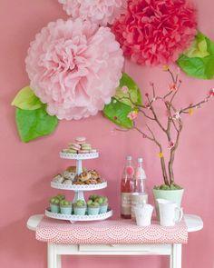 celebração rosa