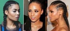 From Beyoncé and Alicia Keys to Ciara and Janelle Monáe, these celebs have been slaying cornrows since, well, forever.