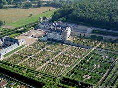 ✈️ Photo aérienne de Villandry - Indre-et-Loire (37)