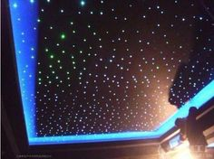 Fiber Optic Lighting Star Ceiling Kit 400 Starts 2 M Mm for sale online Fiber Optic Ceiling, Fiber Optic Lighting, Star Ceiling, Ceiling Lights, Ceiling Fans, Star Citizen, Home Cinema Room, Plafond Design, Club Lighting