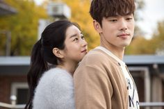 """[Photo] Seo Ye-ji and Kim Jung-hyun's Back Hug in First Still for """"Remembering First Love"""" @ HanCinema :: The Korean Movie and Drama Database Release date in Korea : Hyun Seo, Jung Hyun, Kim Jung, Korean Drama Romance, Korean Drama Best, Korean Drama Movies, Seohyun, Snsd, K Drama"""