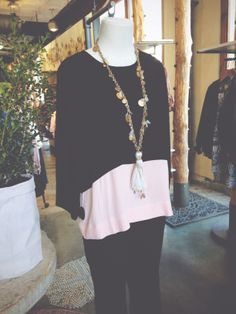 Leyden Top and Silk Medina Necklace. #anthrofav http://www.anthropologie.com