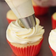 The perfect Pipeable Cream Cheese Frosting for piping beautiful swirls onto cakes and cupcakes that's versatile and yummy enough for all of your favorites!