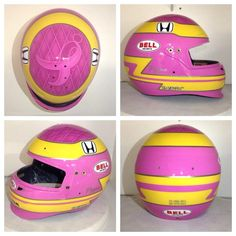 Here are the final shots of Taylor Mann helmet for this years Indy Awesome outcome from RockStar Paint! Komen Central Indiana is honored to be receiving this beauty post race for fundraising. Bell Helmet, Pink Out, Pink Ties, Breast Cancer, Fundraising, Finals, Indiana, Shots, Friends