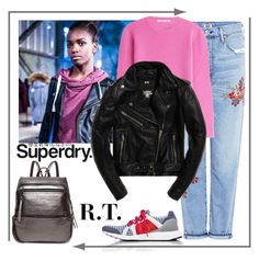 """R.T.-1635 The Cover Up – Jackets by Superdry: Contest Entry"" by sopo-davituri ❤ liked on Polyvore featuring Superdry, adidas, Citizens of Humanity and Agnona"