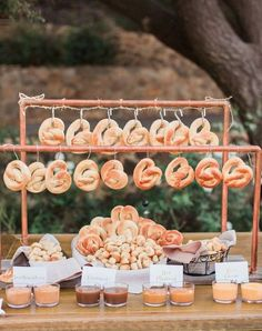 pretzel snack bar for fall wedding reception wedding 20 Trending Fall Wedd… pretzel snack bar for fall wedding reception wedding 20 Trending Fall Wedding Reception Ideas for 2019 October Wedding, Autumn Wedding, Rustic Wedding, Our Wedding, Dream Wedding, Food At Wedding, Fall Wedding Foods, Wedding Snack Bar, Southern Wedding Food