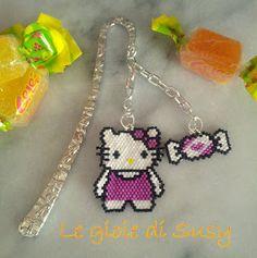 Segnalibro Hello Kitty e caramella