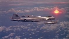 B-57B observing a nuclear test during Operation Redwing, Bikini Atoll, 12 July 1958