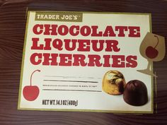 Trader Joe's Chocolate Liqueur Cherries Review