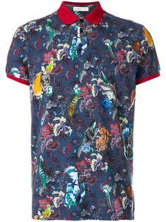 Etro Camisa polo com estampa floral