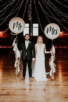 Wedding Photos Giant balloons twinkle lights tassels because what's a wedding without whimsy? Who out there loves watching others having a great time? Well then prepare to not be disappointed by this next wedding! Civil Wedding, Next Wedding, Wedding Pics, Wedding Themes, Wedding Bells, Boho Wedding, Perfect Wedding, Wedding Ceremony, Dream Wedding