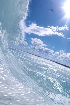 sea, surfing, waves