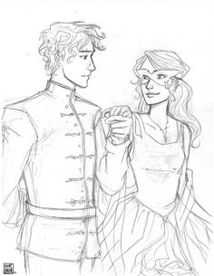 Celorian (Celaina and Dorian from Throne of Glass by Sarah J. Maas)