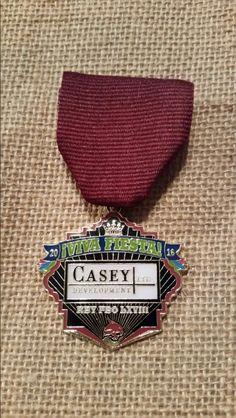 2016 Casey Development El Rey Feo Medal