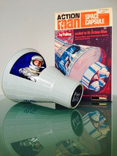 Action Man Space Capsule and Astronaut